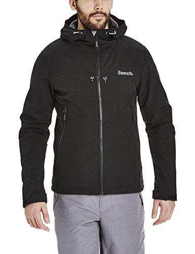 Bench giacca con cappuccio Path nero