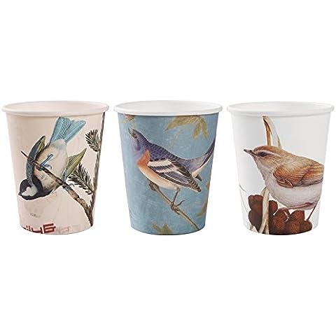 Alink Birds Design Tea Party Paper Cups, 24 Count by ALINK