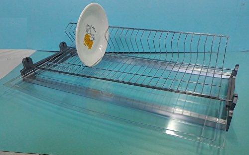 Égouttoir à vaisselle vasistas sauve espace avec une seule Grille et châssis pour armoire de mesure intérieure et extérieure 90 cm 86 cm une seule Grille porte assiettes et porte verres