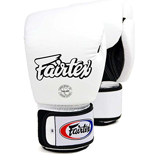 fairtex boxhandschuhe Fairtex Boxhandschuhe, BGV-1 AIR, weiß, Boxing Gloves MMA Muay Thai Thaiboxen Size 10 Oz