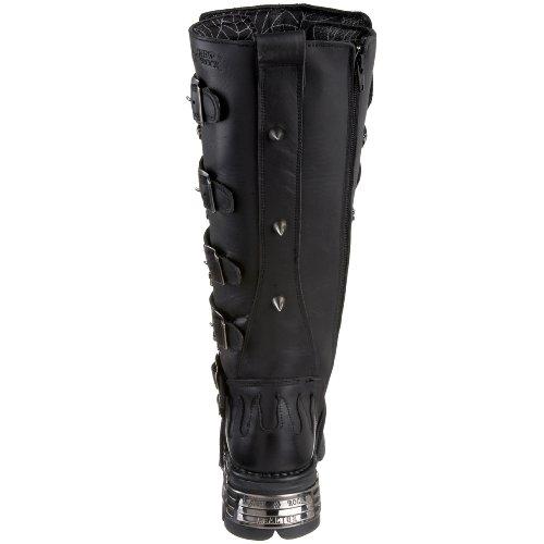 New Rock Boots Lederstiefel schwarz Style 161 Black
