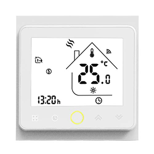 Dkings WiFi intelligenter Thermostat-Temperaturregler für die Wasser- / Gaskesseltechnik Alexa intelligenter Temperaturregler Mobile App Voice WiFi Tmall Warmwasserbereiter Fernbedienung -