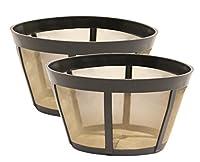 2 Pack GoldToneTM Reusable Basket Coffee Filter, Fits BUNN®* Coffee Makers (2)