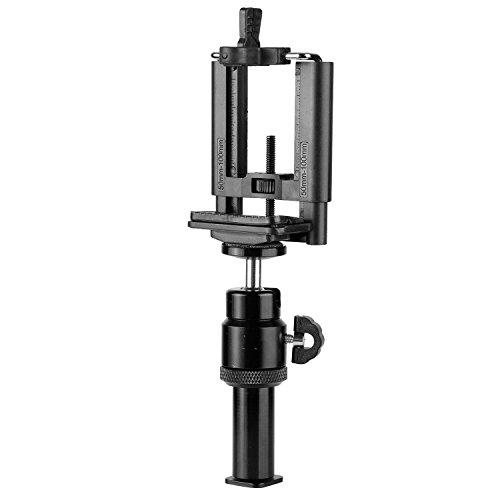 Neewer Zubehörschuh Erweiterung/Smartphone Halterung Set für LED-Ringlicht mit Standard-Zubehörschuh für Liveübertragung Porträt Youtube Video Fotografie