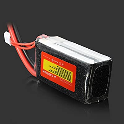 Bluelover ZOP Power 11.1V 1500mAh 30C Lipo Battery XT60 Plug