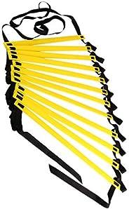 Diamoen Flessibilità Agility Ladder Nylon Strap Salto scaletta di addestramento di velocità di agilità Scale F