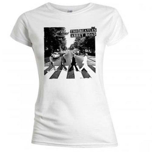 The Beatles Abbey Road de las Mujeres Babydoll Camiseta