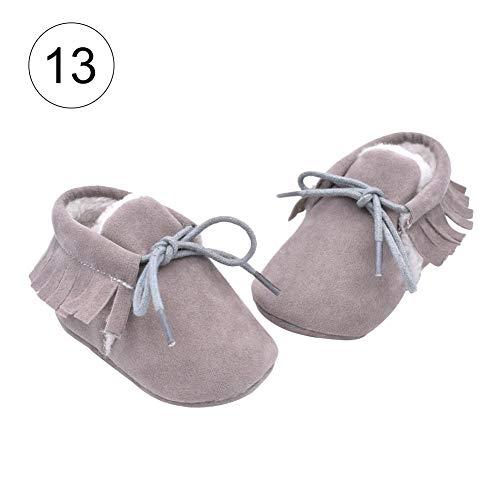 d44296eddf9ad iBaste-Chaussons Bébé Filles Bottes Chaud Souple Chaussures Bébé Mignon  Non-Slip Coton Enfant
