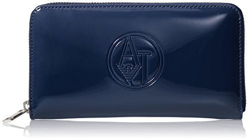 Armani Jeans 05V32RJ, Sac à main pour femme Bleu Blau (BLU - BLUE 50) 19x11x2 cm (B x H x T) Bleu - Blau (BLU - BLUE 50)