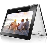 Lenovo Yoga 300 (80M0003WIN) 11.6-inch Laptop (Pentium Quad Core/4GB/500GB/Windows 8.1) White