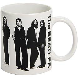Taza Beatles White