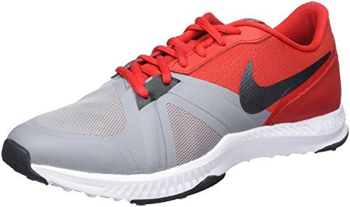 Nike Air Epic Speed Tr, chaussures homme (Université noire (stealth / anthracite-rouge-blanc)) Noir