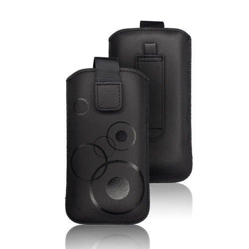 Handytasche Deko für Samsung Galaxy J5   J5 (2016)   J5 (2017) schwarz Handy Tasche Schutz Hülle Slim Case Cover Etui Soft Case
