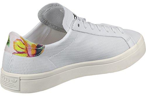 adidas Courtvantage W, Scarpe da Corsa Donna Bianco (Ftwbla / Ftwbla / Ftwbla)