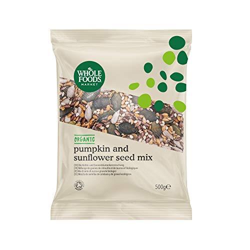 Whole Foods Market -Mezcla de semillas de calabaza y de girasol ecológicas, 500g
