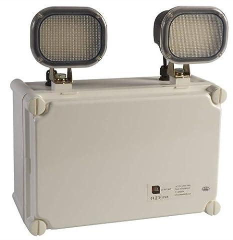 Red Arrow LF292LED-Double Spot à LED IP65, lumière d'urgence