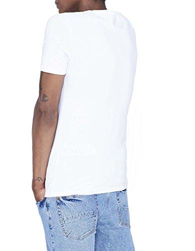 Celio Herren T-Shirt Ceuni Weiß - Weiß (Optical White)