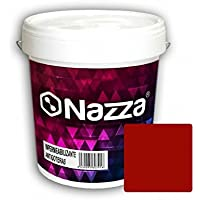 Pintura de Caucho Antigoteras y Antihumedad para Impermeabilización de Terrazas   Gran Elasticidad   Consigue impermeabilizaciones de calidad impidiendo humedades   Color Rojo Ladrillo   4 Litros