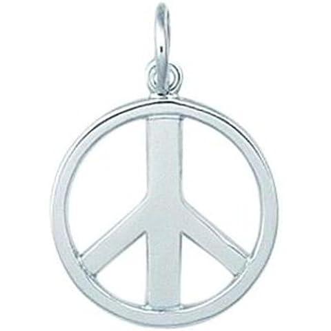 Ley FindingKing de plata del encanto del símbolo de la Paz