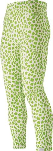 Playshoes Mädchen Legging mit Leopardenmuster, Oeko-Tex Standard 100, Gr. 104, Mehrfarbig (original 900)