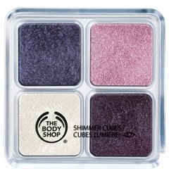 The Body Shop 23 Shimmer Cube Palette 4x3.5g: 01 Shade Orchid Purple, 02 Shad...