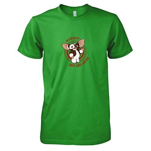 t add Water - Herren T-Shirt, Größe XXL, grün (Grüne Riesen Kostüme)