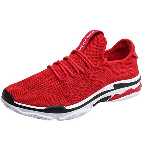 LILIHOT Frauen Sportschuhe Paar Modelle Laufschuhe fliegen gewebt Mesh Freizeitschuhe Mode Laufsocken Schuhe Damen Studenten elastische dünne Stiefeletten rutschfeste Schuhe Mesh-Schuhe -