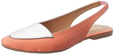 Bata Women's Talisa Pink Ballet Flats - 3 UK/India (36 EU)(5515316)