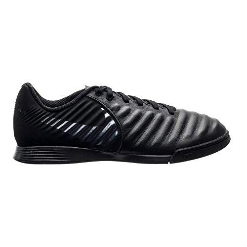 Nike Tiempo Legendx VII Academy Indoor, Scarpe da Calcio Unisex-Bambini, Nero (Schwarz 001), 35.5 EU