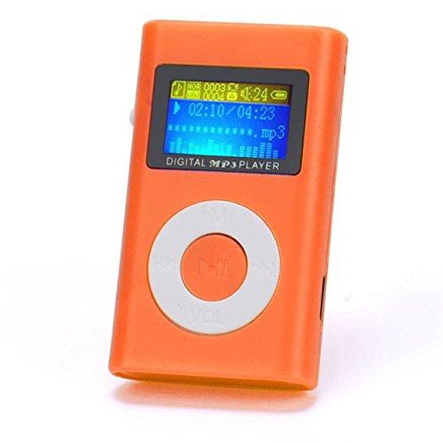OSYARD MP3 Player,Musik Player,Tragbare Mini USB MP3-Player Kunststoff Kartenleser Touch-Taste Verlustfreie Sound Kinder Musik Player mit LCD Bildschirm Unterstützt 32 GB Micro SD TF-Karte