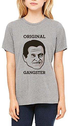 Original Gangster Toothpick Women's T-shirt Gris