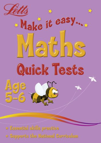 Maths Age 5-6: Quick Tests (Letts Make It Easy)