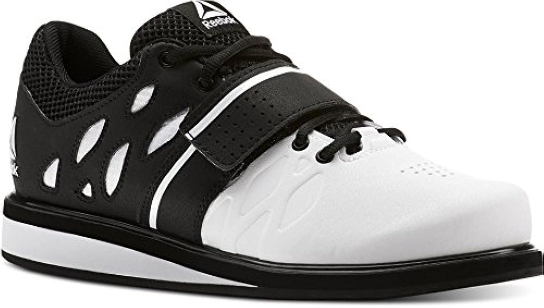 Reebok Lifter Pr, Zapatillas de Deporte para Hombre, Blanco (White/Black 000), 41 EU
