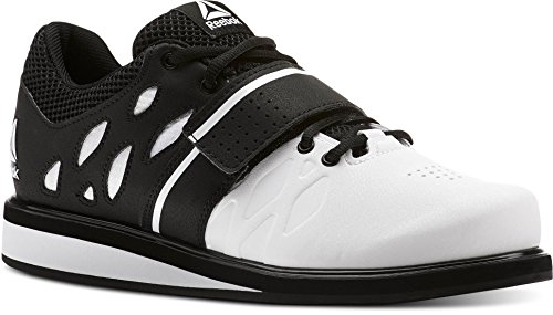 Reebok Lifter Pr, Zapatillas de Deporte para Hombre, Blanco (White/Black 000), 44 EU