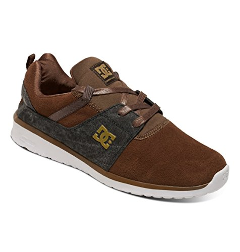 DC Shoes Heathrow Se M, Sneaker Uomo DARK CHOCOLATE/DENIM