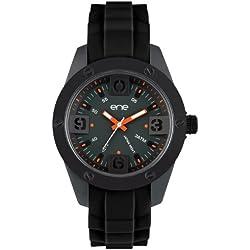 ene watch Mod. 107-48 - Herrenuhr Armbanduhr Analoguhr mit Silikon Band ene-21753