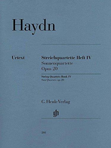 String Quartets Book IV op. 20