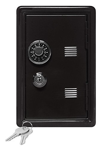 Kids Coin Bank Locker Safe With Combination Lock And Key 7