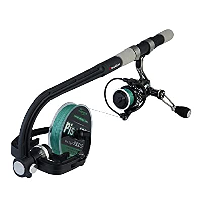 Piscifun Fishing Line Winder Spooler Machine Spinning Reel Spool Spooling Station System Automatic Spools Holder by Piscifun
