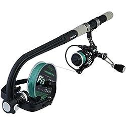 Piscifun Enrouleur de Ligne de pêche Spooler Machine Moulinet Bobine Spooling Station Système Automatique de bobines de Support