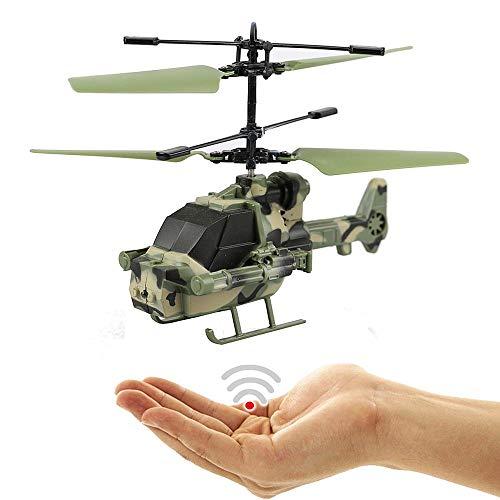 Army Kampfhubschrauber Tiger-Einfach zu Steuern per Handbewegung-Gestiksteuerung!Ganz einfach zu fliegen!Ein super Geschenk für alle Technik Freaks!Faszinierende Technik!-Helicopter,Mini Drohne