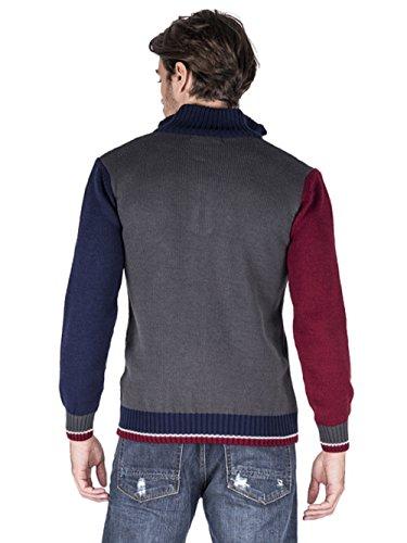 Giorgio Di Mare Pull Men's Jersey gi2414219 Multicolore - Gris