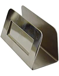 Modern Art Mirror Finish Stainless Steel Business Card Holder St201 Stainless Steel Satin Finish Patented Luxury...
