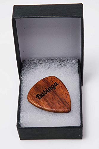 Personalised Wooden Guitar Pick/Plectrum perfect for Teachers/Anniversaries/Birthdays and a great Father's Day Gift