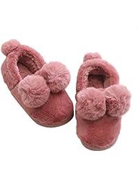 Zapatillas de Estar por casa Pelota Antideslizante Ultraligero Invierno Mujer