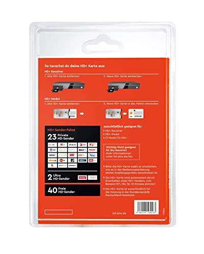 HD+ Karte für 12 Monate Fernsehen in brillanter HD-Qualität - 2