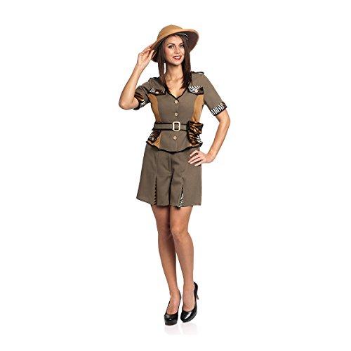 Kostümplanet Safari-Kostüm Damen Größe -
