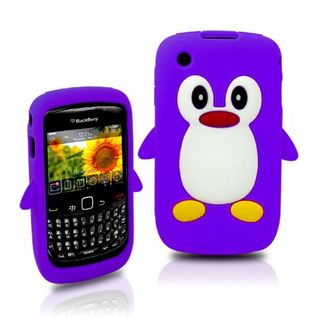 ZAFOORAH® - Cool PENGUIN PINGU Silicone Case Cover Fits Blackberry