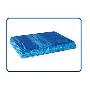 Sissel Balancefit Pad, blau, kleine Gymnastikmatte, ideal für Ihre Gleichgewichtsschulung, Balance Training, blau 50 x 41 x 6 cm