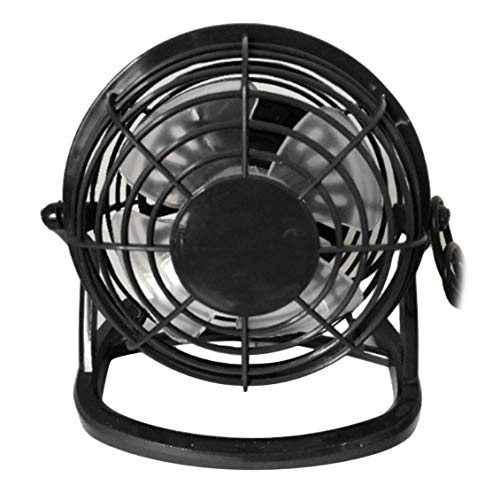 ForceSthrength 4-Inch Mini Portable USB Plastic Fan Handheld Desk 4 Blades Cooling Fan -